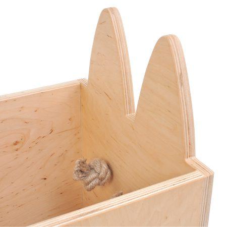 skrzynka na kółkach zwierzak, pochłaniacz przedmiotów