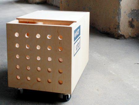 skrzynka na kółkach Warsztat, pochłaniacz przedmiotów